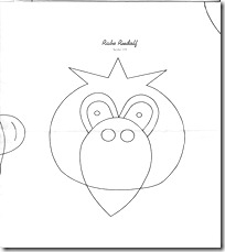 molde cuervo - blogcolorear.com