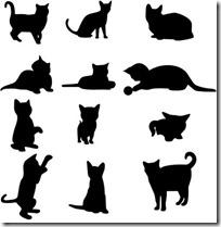 silueta de gato blogdeimagenes  (7)