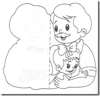 postal padre blogcolorear