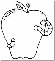 colorear manzana (2)
