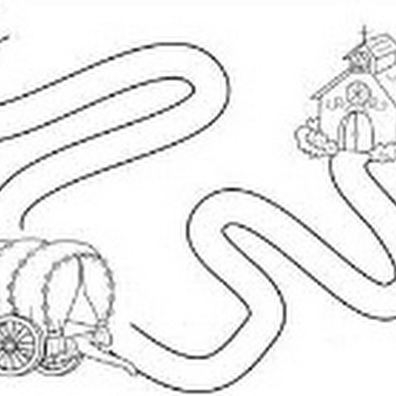 dibujos para colorear Romería y Virgen de robledo