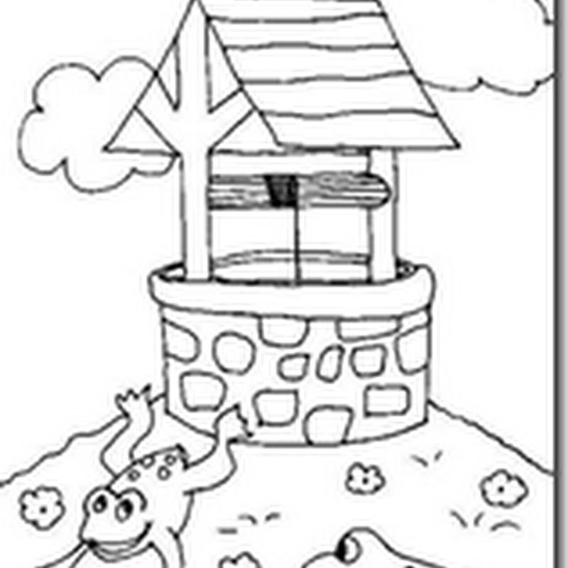 Dibujos para colorear Ranas y sapos