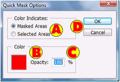 Quick Mask Options