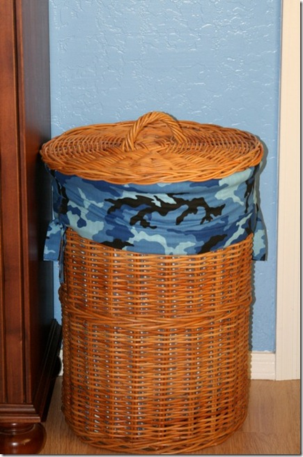Michael's Hamper Cover