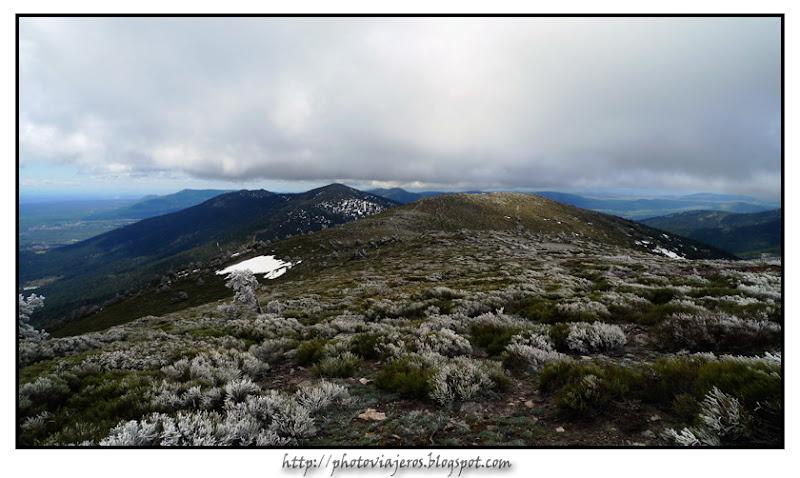 Peña Bercial desde Cerro Minguete