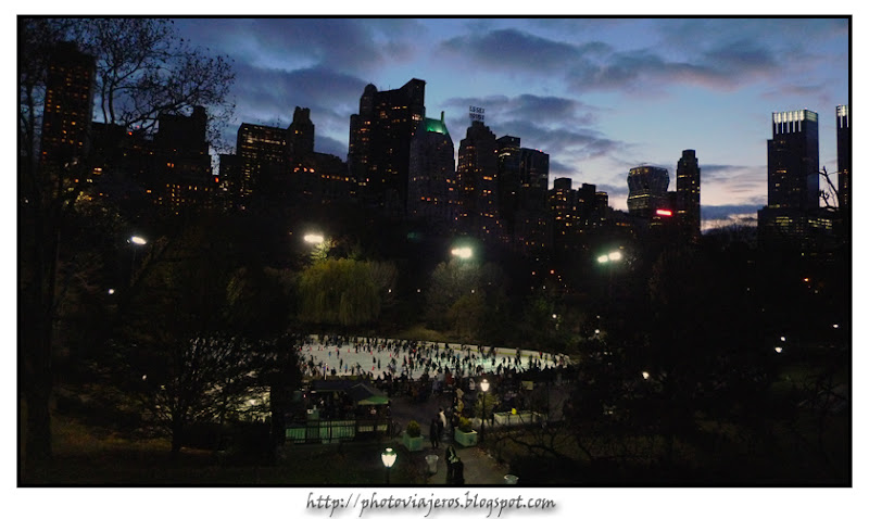 Atardecer en Central Park