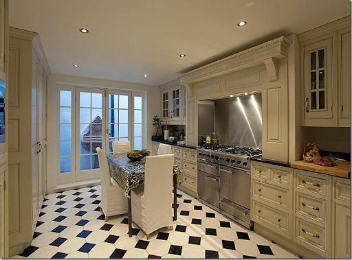 black and white tile kitchen black and white tile kitchen