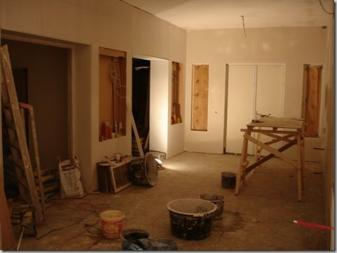 Showroomnew,lookingeast.Justafterplastering.