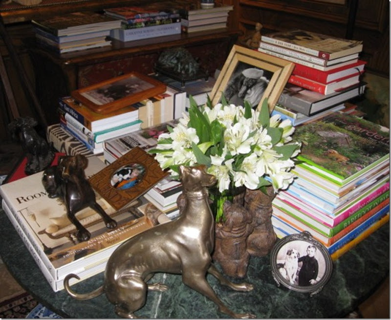 Books with Dogs and Flowers