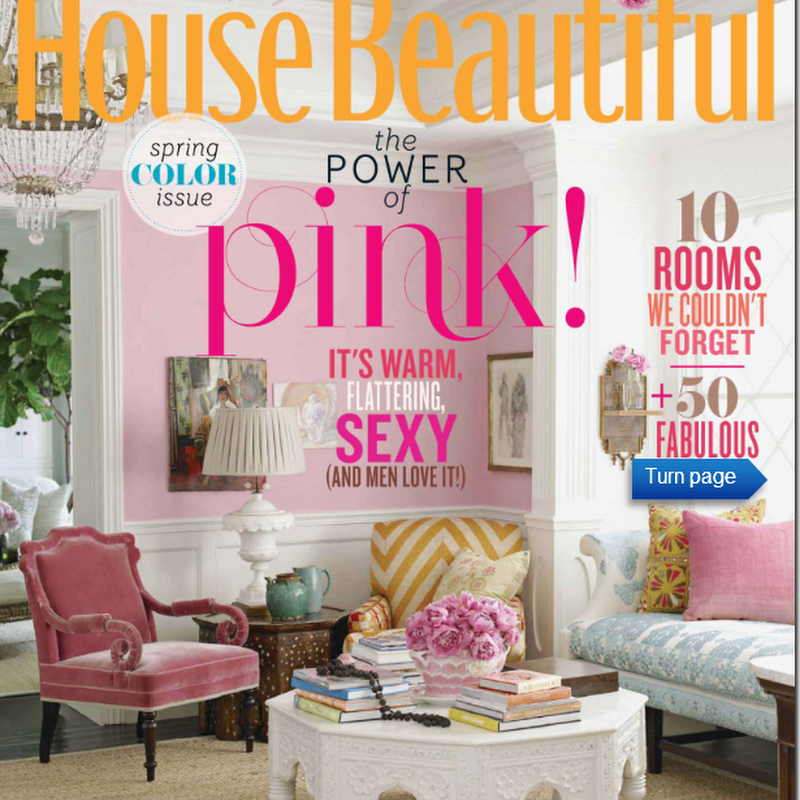 Pink/Repink:  Dishing on House Beautiful
