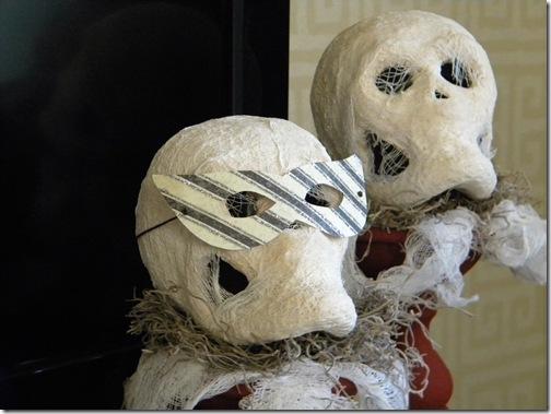Mummy heads