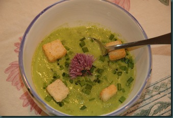 fresh pea soup 081
