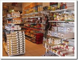 Шоколадный магазинчик около Grand Place