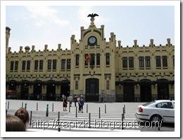 Вокзал в Валенсии.