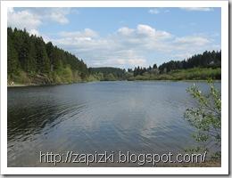 Бельгия. Озеро возле Butgenbach