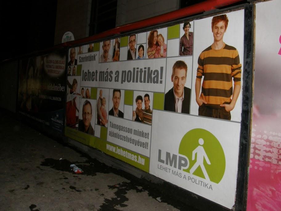 LMP, óriásplakát, vizuális környezetszennyezés