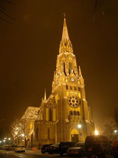 Budapest, XIII. kerület, Szanyi Tibor, Béke tér, templom