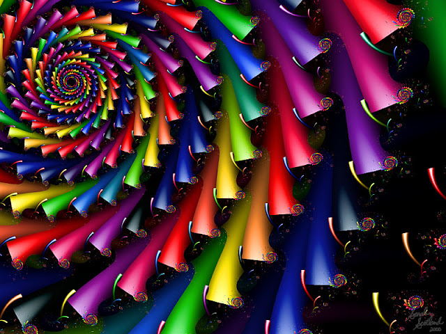 Crayola Crayon Fractals image