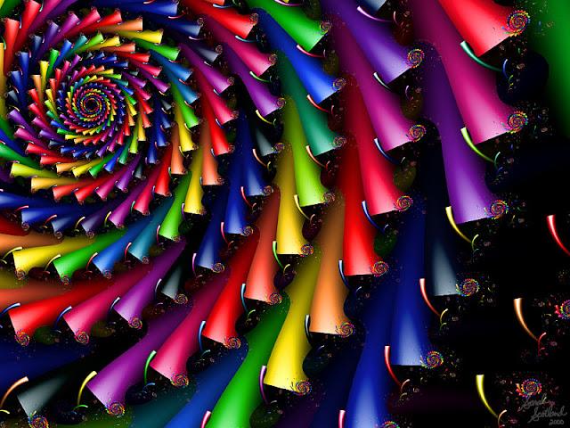 Crayola Crayon Fractals image