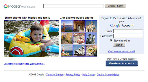 SEO: Flickr vs Picasa web album which one is more seo friendly