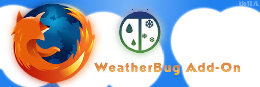 WeatherBug Firefox Addon-Local Weather Forecast & Condition