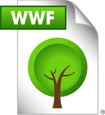 World Wildlife Funds Launches Nonprintable Ecofriendly File Format .wwf to save trees