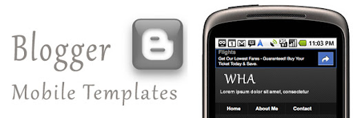 Blogger Introduces Mobile Template For Blogger Blogs, Read On Go!