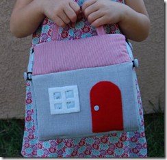 storybook house Purse