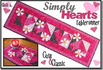 heart tablerunner