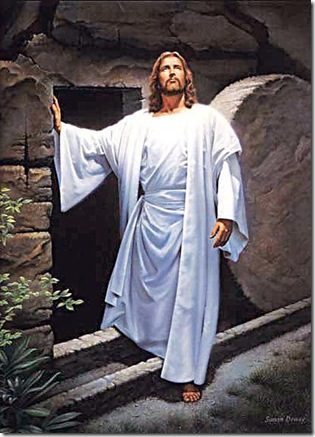 jesus at the empty tomb