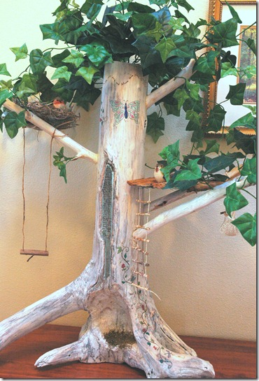 Mommy Blessings: Make a Fairy Tree House