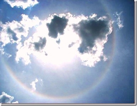 rainbow clouds.