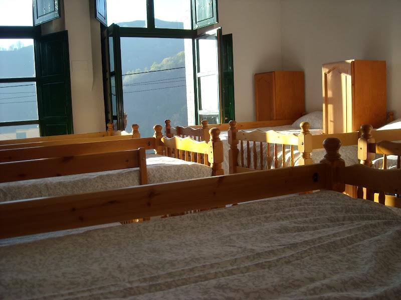 Albergue d'Urbiés - Vistas desde una de las habitaciones
