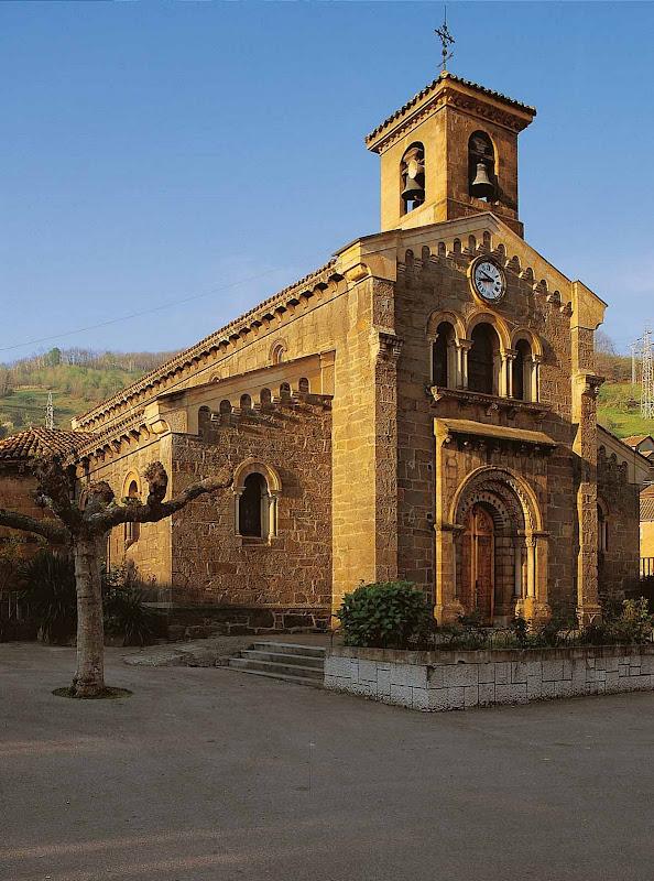 Iglesia de Sta Eulalia de Ujo