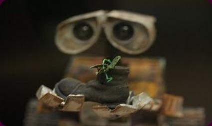 WALL-E CON PLANTA 2