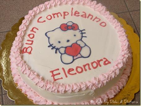 Torta Hello Kitty (2° compleanno Eleonora)