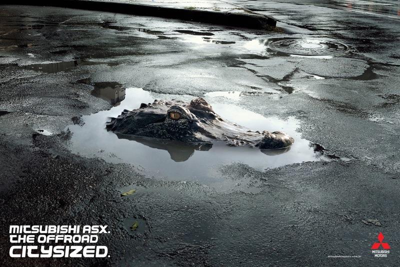 Mitsubishi crocodile low