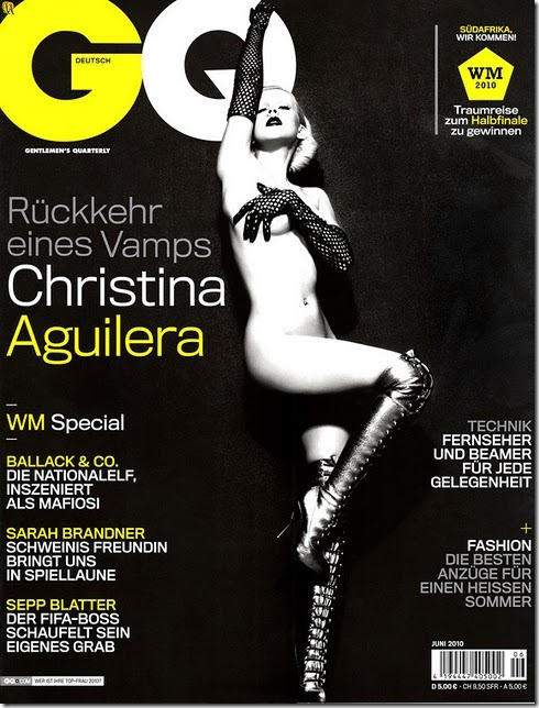 Christina Aguilera X-tina GQ Alemã by Alix Malka  (5)