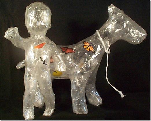 Esculturas de plástico (10)
