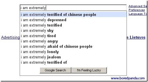 estranhas sugestões de Pesquisa do Google 10