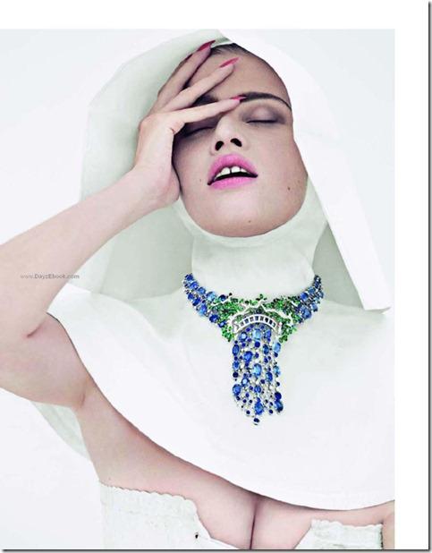 La Tentation du Diamant with Lara stone by Cedric Buchet for Vogue Paris 5