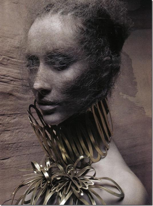 Vogue Italia beauty editorial arte, more freak show blog (3)