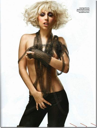 lady gaga nude q magazine gaga pagando peitinho (7)