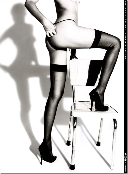 Adriana Lima livro Wicked by Ellen Von Unwerth  (10)