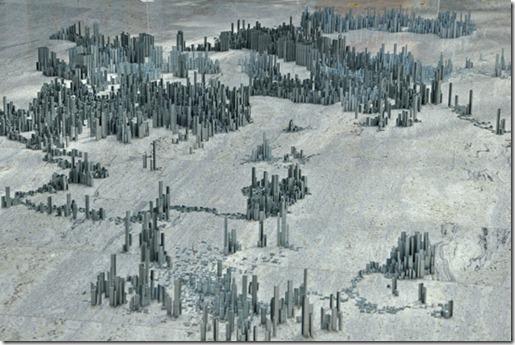 Ephemicropolis arte com grampos by Peter Root (2)