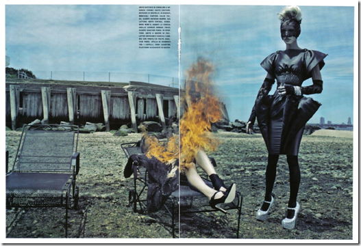 The Honourable Daphne Guinness Vogue Italia  (8) Steven Klein Fotos Hq