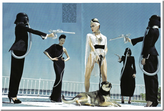 The Honourable Daphne Guinness Vogue Italia  (12) Steven Klein Fotos Hq