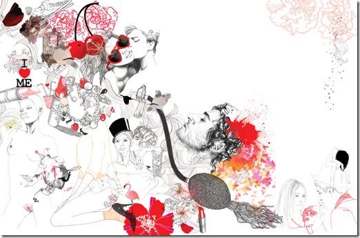 Lina Ekstrand's fashion illustrations ilustração moda (2)