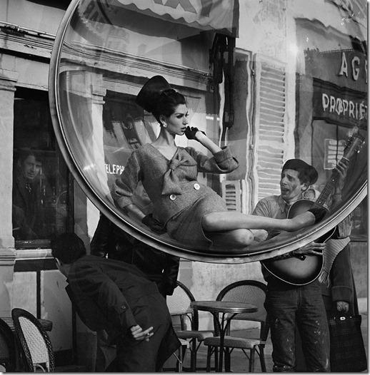 Série Bolha Melvin Sokolsky anos 60  Harper's Bazaar(7)
