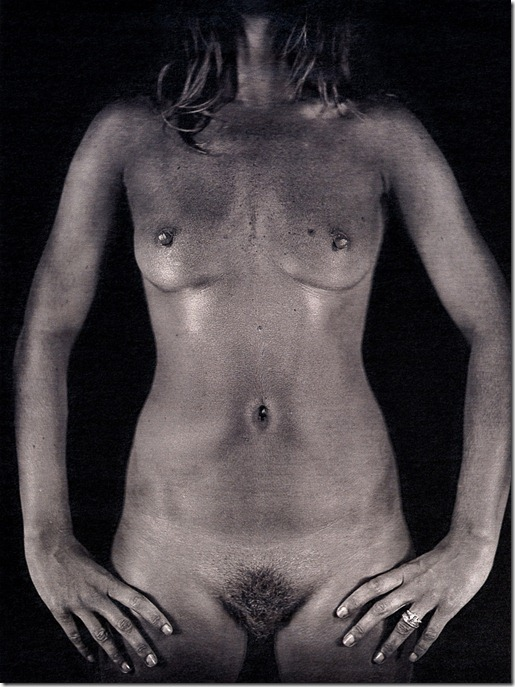 kate moss núa por Chuck Close (2)